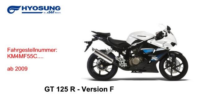 GT 125 R F