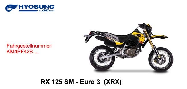 RX 125 SM E3
