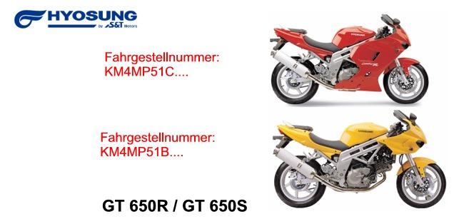 GT 650 S & R