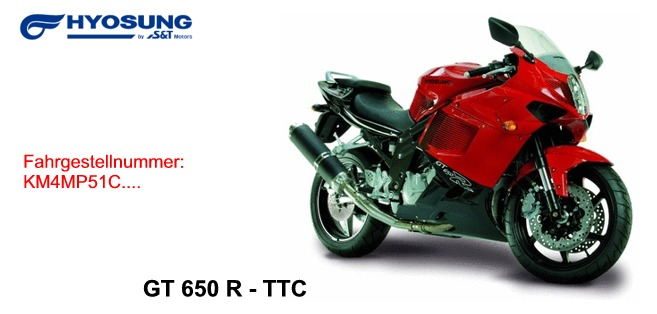 GT 650 R TTC