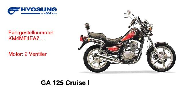 GA 125 Cruise I
