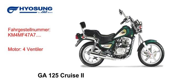GA 125 Cruise II