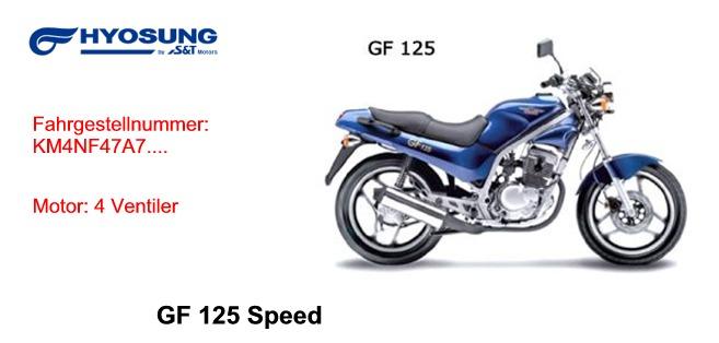 GF 125 SPEED