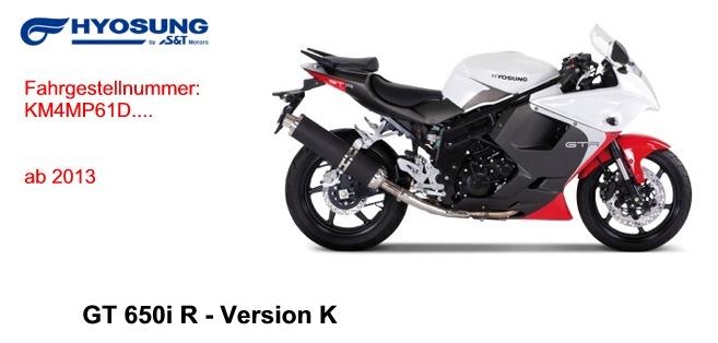 GT 650i R K ( GT650 RC )