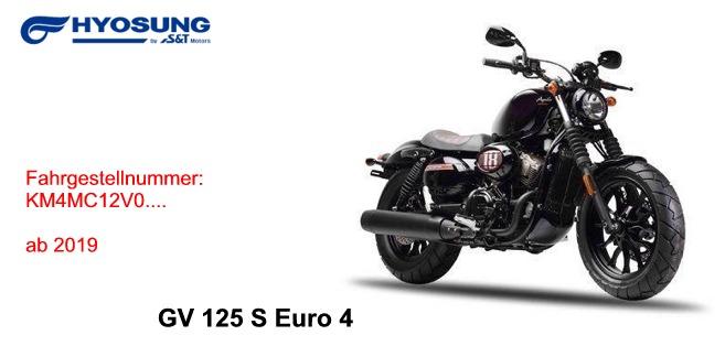 GV 125 S Euro 4 ab 2019