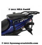 Kofferhalter GT 650 für GIVI/KAPPA Seitenkoffersysteme