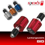 SPEEDS - Lenkergewicht BIG - Silber - SET